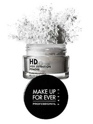 BIG MAKE UP FOR EVER HD HIGH DEFINITION MICROFINISH POWDER .35 OZ / 10 NEW