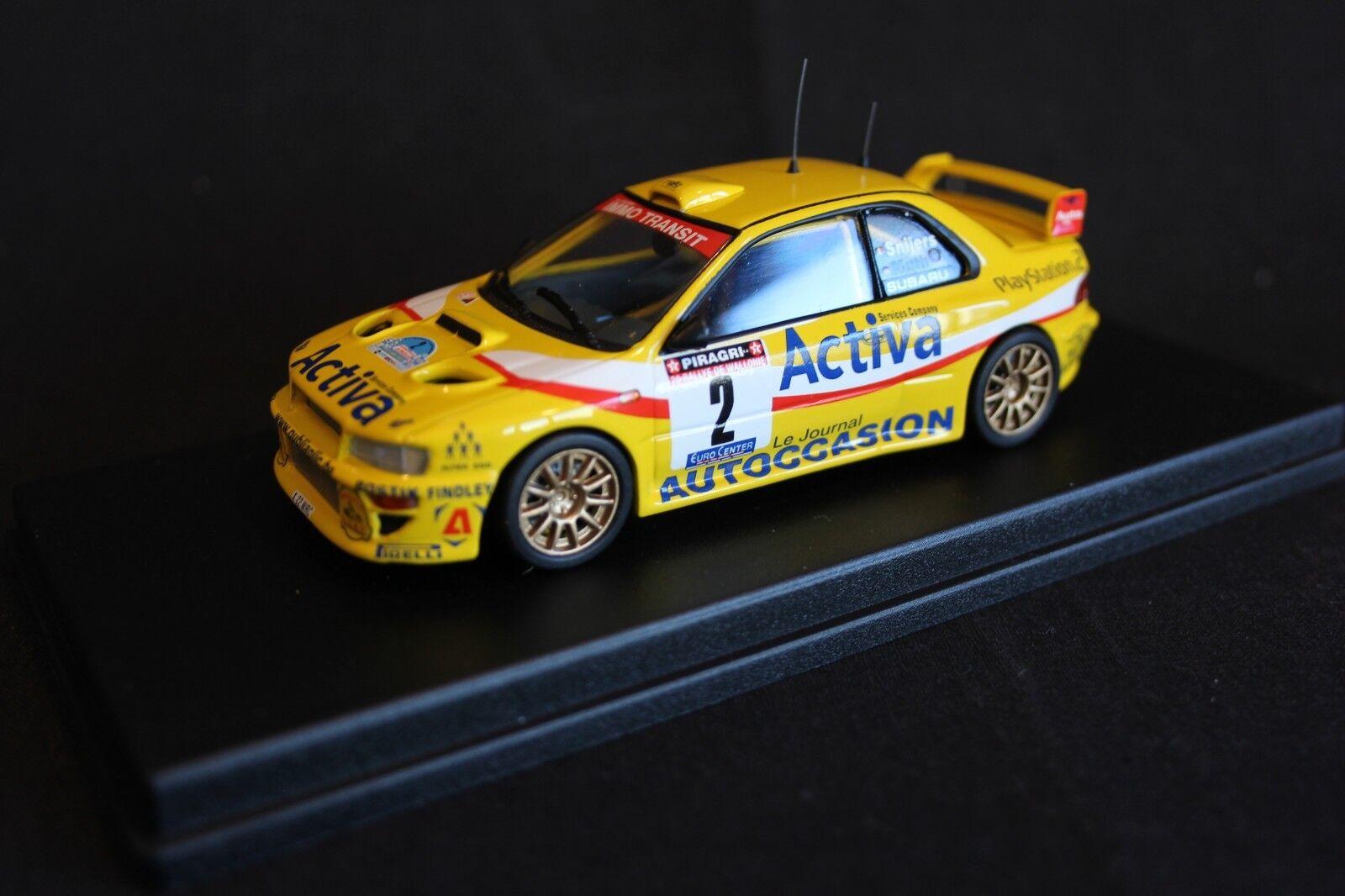 nuevo sádico Troféu Subaru Impreza WRC 2003 1 43 43 43  2 Snijers   Muth Rallye de Wallonie 2003  compras de moda online