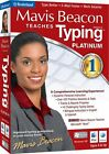 Mavis Beacon Teaches Typing 20 Platinum PC New Sealed in Box