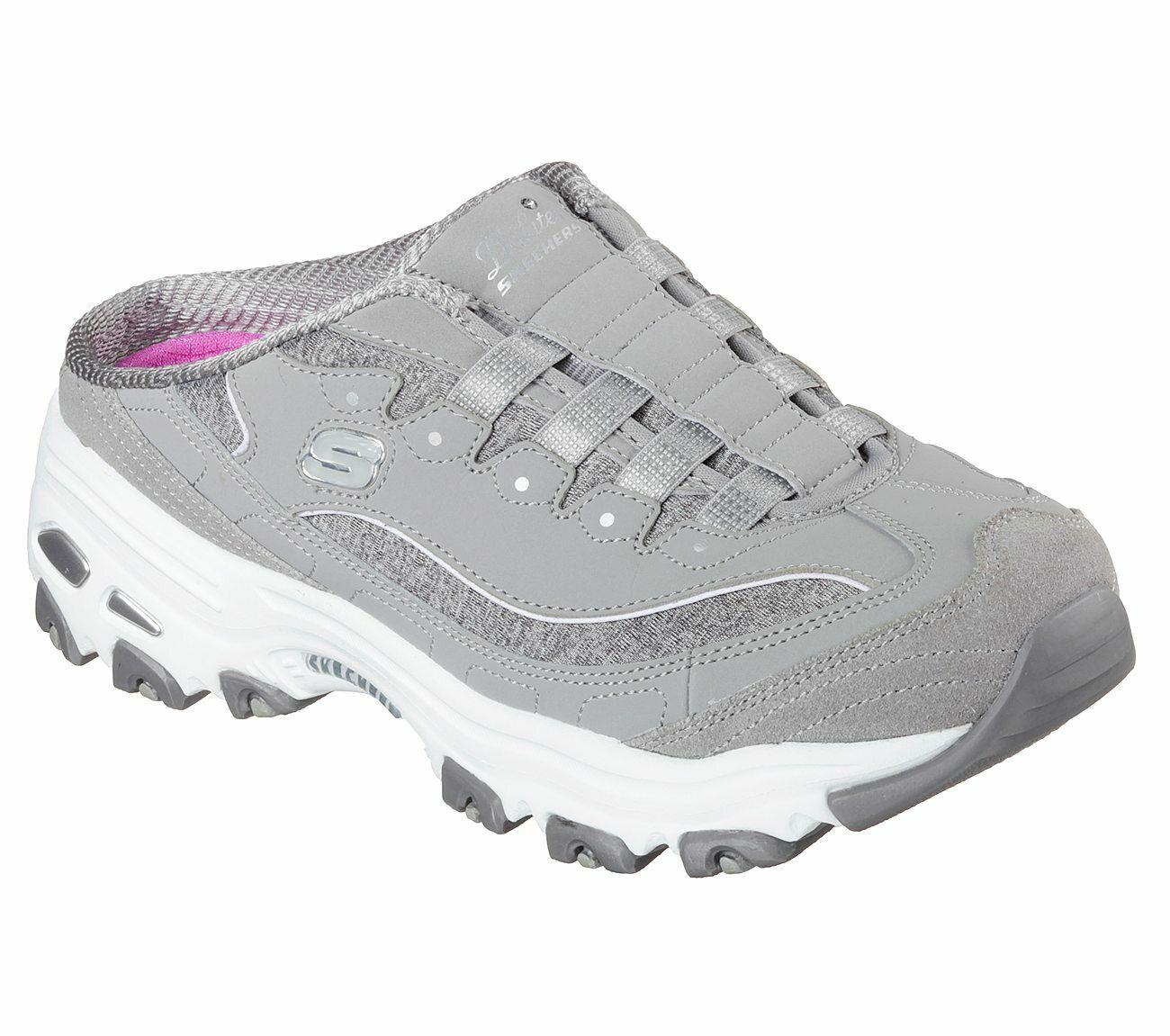 NEU Skechers Damenschuhe Schuhe Sabot D´Lites RESILIENT Turnschuhe Clogs Pantolette