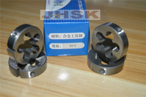 "19 BSP Parallel British Standard Pipe Die 3//8-19 TPI (1pcs) G 3//8/"""
