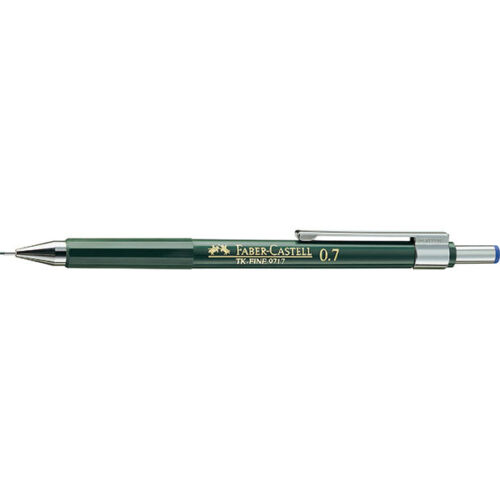 FABER-CASTELL TK-FINE TECHNICAL DRAWING PENCIL /& LEADS 0.35,0.5,0.7 /& 1.0 mm