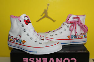 06bf0d32ee Converse x Hello Kitty Chuck Taylor All Star Women s sz 9 White ...