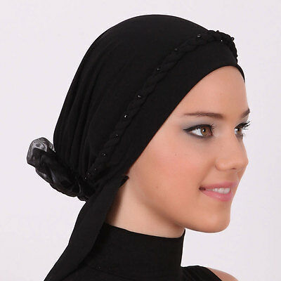 NEW Fancy Bonnet Cancer Chemo Hijab Turban Cap Beanie Hat Scarf Lace Colors