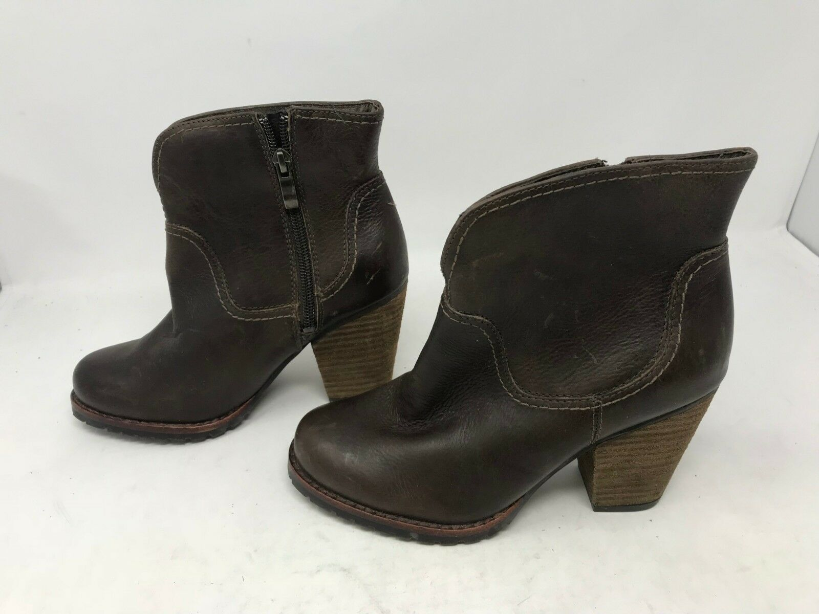 Donna Eastland (3942-18) Jezebel 1955 Brown Chukka Stivali Size 6   (19L)
