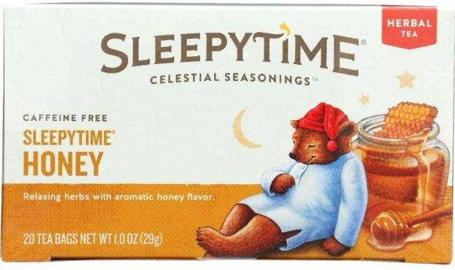 Sleepytime Honey Tea by Celestial Seasonings, 20 tea bag 1 pack