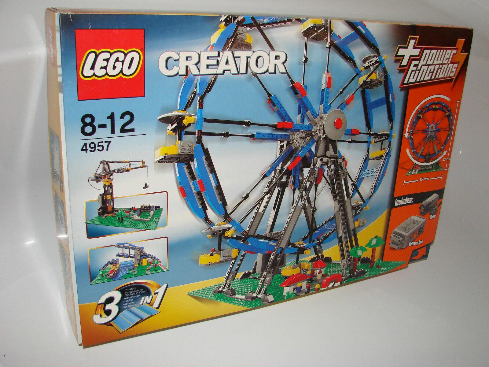LEGO ® Creator 4957 grande roue NEUF neuf dans sa boîte _ Ferris Wheel NEW En parfait état, dans sa boîte scellée Boîte d'origine jamais ouverte
