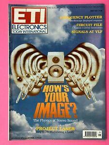 ELECTRONICS TODAY INTERNATIONAL ETI - Magazine - Frequency Plotter - May 1991  eBay