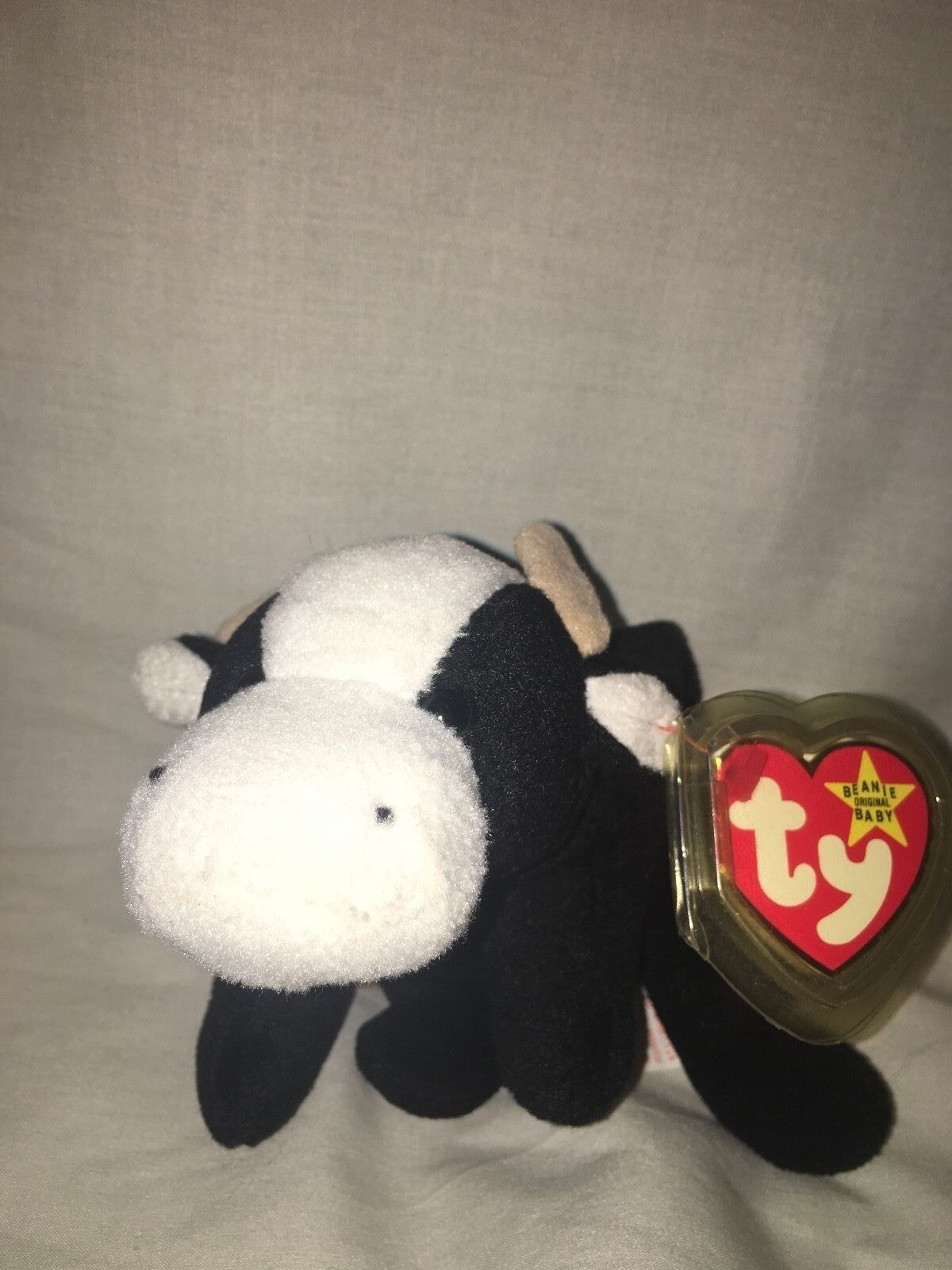 1994 Daisy Daisy Daisy the Cow Ty Beanie Baby with Spot in Mint Condition  3bc1c5