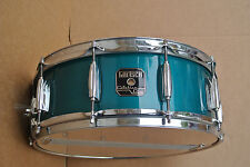"""GRETSCH 14"""" CATALINA CARIBBEAN BLUE  SNARE DRUM for YOUR DRUM SET! #C283"""