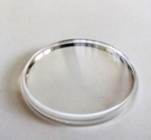 Vetro plexi per Omg 5077 Speedmaster Chronograph anello acciaio chromed ring