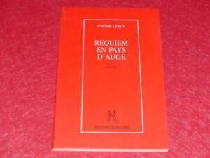 BIBLIOTHEQUE-H-amp-P-J-OSWALD-JEROME-LEROY-REQUIEM-EN-PAYS-D-039-AUGE-1996-Signe