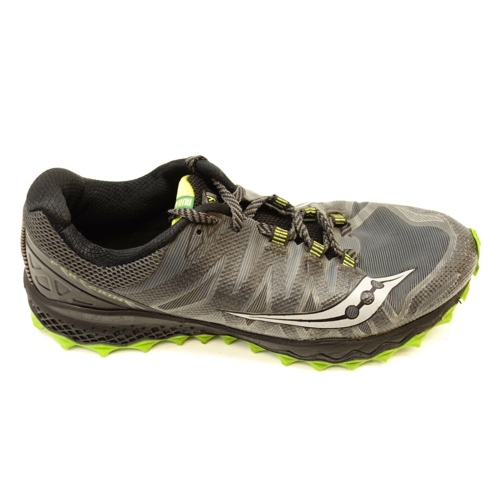 Saucony Mens Size 11 Peregrine Everun Athletic Comfort Terrain Running shoes