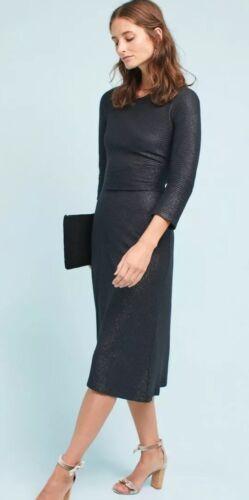 S Negro £ 118 regalo de Día de las Madres BNWT Anthropologie Akemi Kin manipult Costilla Ajustado Talla