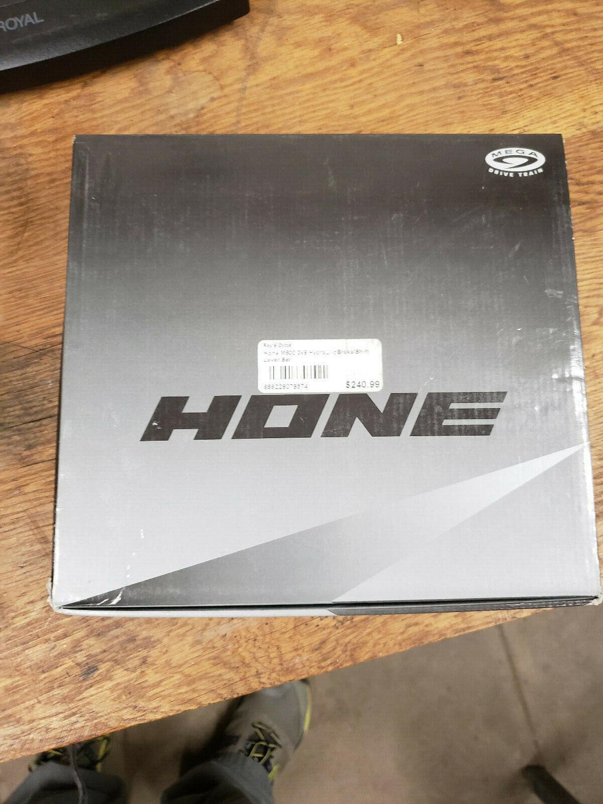 Hone 3X9 dual control hydraulic brake shifters SKU 689228078574