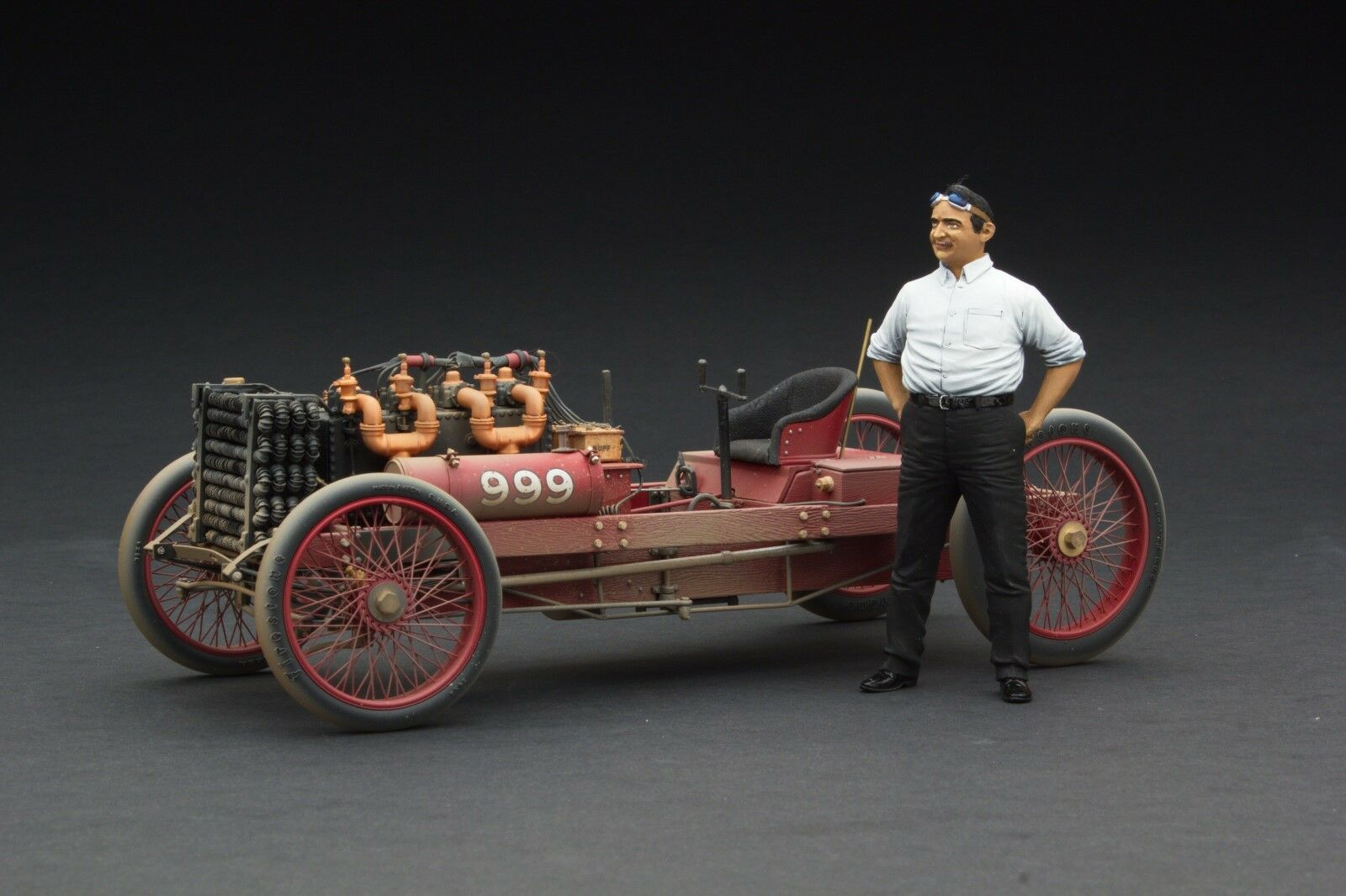 Course Patiné Exoto 1903 Ford 999 Barney Oldfield 1 18  Rlg88040flpf