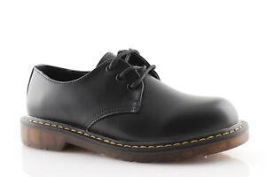 Femme Chaussures La Cuir Noir Derby Basses Rangers À Mode Écologique nwO80Nvm