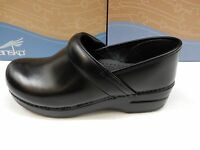 Dansko Womens Clogs Wide Pro Cabrio Black Size Eu 39