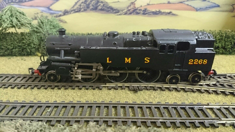 protección post-venta Hornby Hornby Hornby Dublo 2-6-4 Steam Locomotive no 2268 LMS negro  lo último
