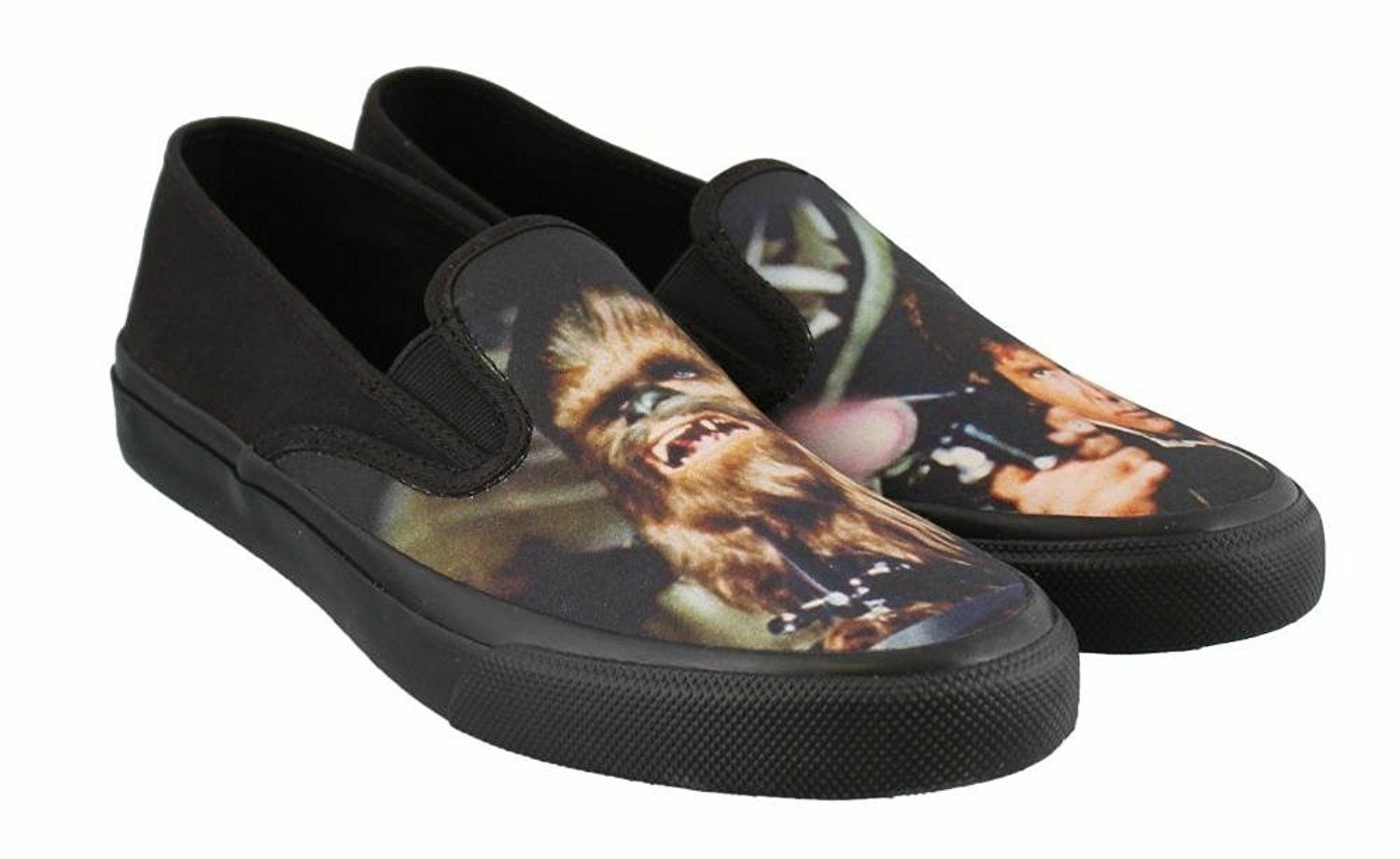 Sperry STAR WARS Slip On Hans Solo Chewie Chewbacca w  box  9  9.5  10  10.5  11