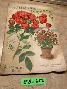 1906 STORRS  AND HARRISON .SEED  CATALOGUE