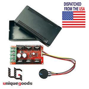 Pwm dc motor speed controller adjustable variable switch for Variable speed dc motor control