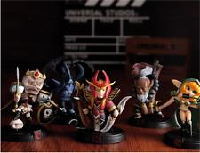 5Pcs/Set Dota 2 TB BM SIL SNK WR PVC Action Hero Figure Toy Gifts