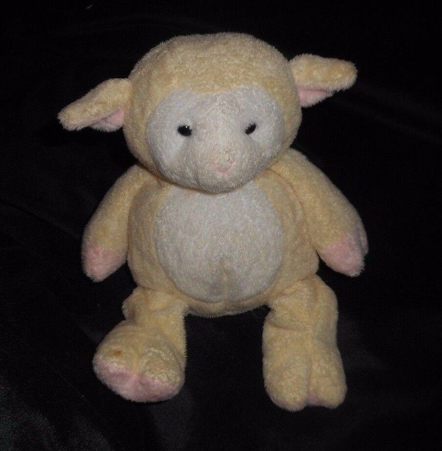 Ty Pluffies 2003 mit Shearly das Lamm Creme Plüschtier Spielzeug Lovey Ostern  | Düsseldorf Online Shop