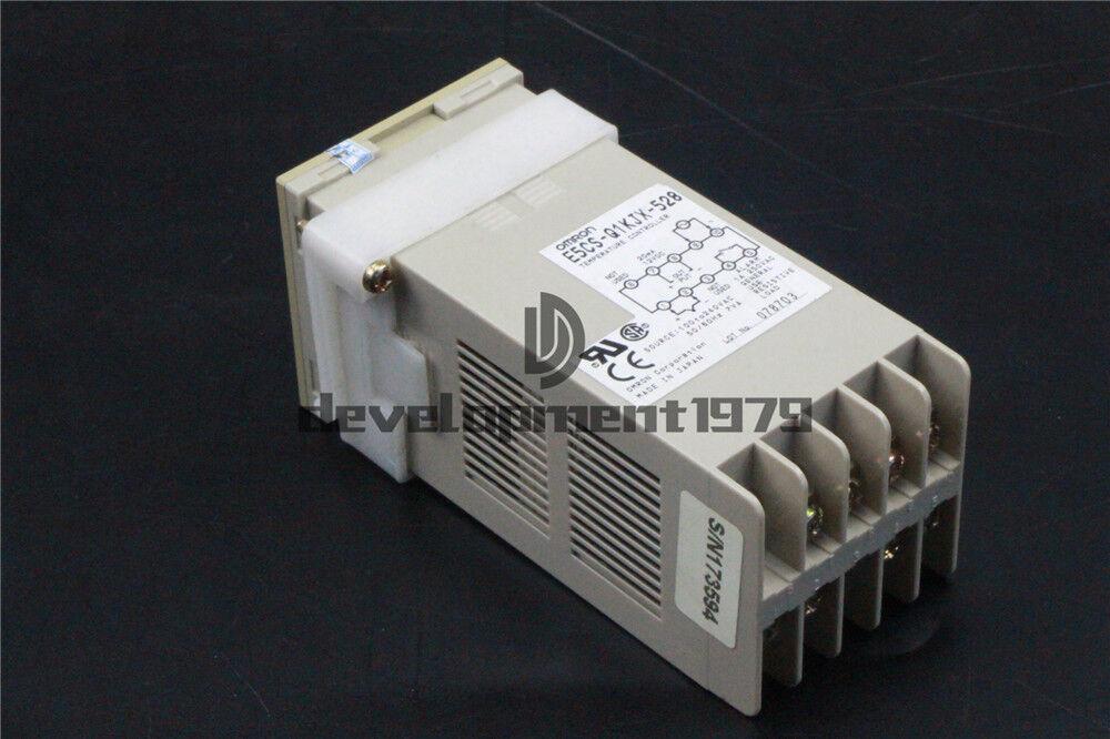 1PC Used OMRON E5CS-Q1KJX-528 Temperature Controller Tested