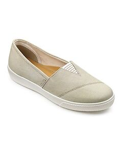 HOTTER-LAUREL-LADIES-SLIP-ON-SHOE-STONE-UK-7-5-EU-41-5-LN09-96