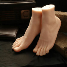 One Pair High Quality Silicone Feet Model Male Feet Models Mens Foot Mannequin
