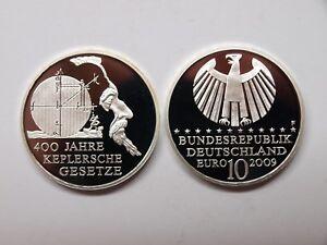 Deutschland-2009-10-Euro-Keplersche-Gesetze-Spiegelglanz-PP-MD445
