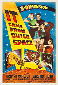 1950's Sci-Fi * IT Came from Outer Space * Alternate Movie ...