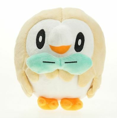 New Pokemon Sun Moon Plush Toys 7in Rowlet New Stuffed Doll Kids Xmas Gifts