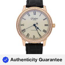 Glashutte Original Senator Gold Diamond Strap Automatic Watch 39-59-01-15-04
