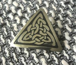 Analytisch Keltische Brosche, Schmuck, Knoten-ornament, Clonacraft Of Ireland, Silberfarig