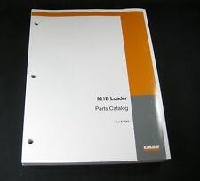 Case 921b Loader Tractor Parts Manual Catalog Book List