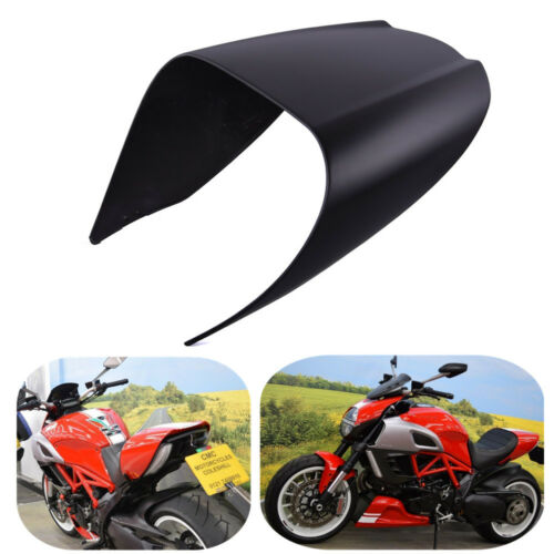 Passenger Solo Seat Cover Cowl Pillion For Ducati Diavel 2011-2018 Matte Black