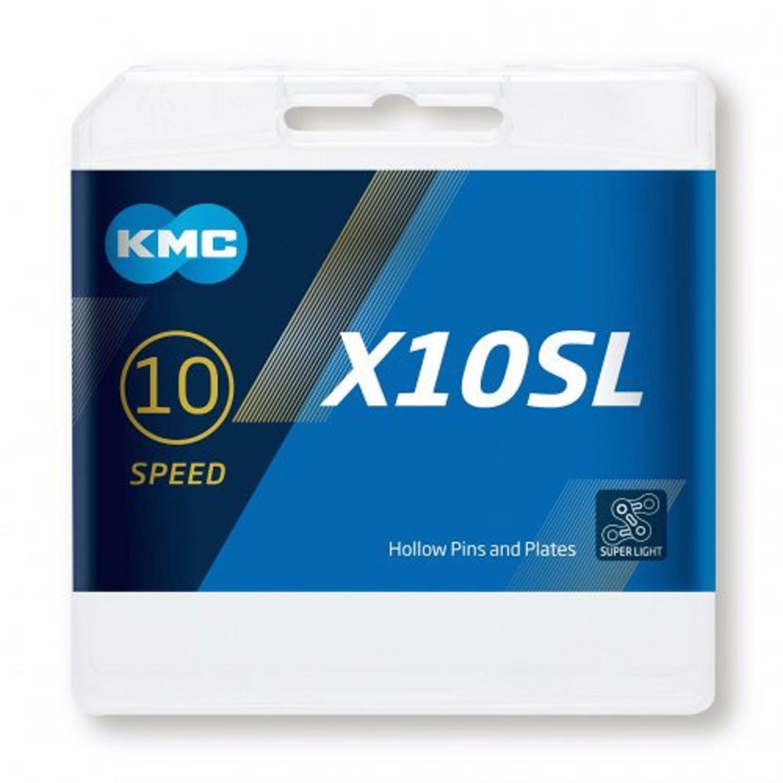 NEW KMC X10SL Bike Chain MTB Road 10 Speed 116L oro Titanium Shimano Sram