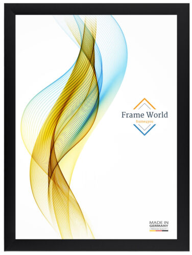 FW35 XXL Puzzle Poster Frame Din A0 A1 A2 A3 A4 120x80 Picture Frame in Black