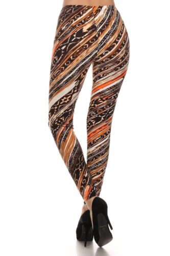 Leggings Buttery Soft Women/'s Brushed Flawless Fit Leggings OS Fits Size 4-12