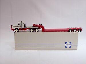 Volvo-NL12-Truck-w-Talbert-Lowboy-Trailer-1-50-Conrad-3912-N-MIB