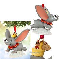 2015 Disney Store Dumbo Elephant Timothy Sketchbook Christmas Ornament Boxed