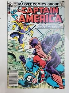 CAPTAIN-AMERICA-282-1983-1ST-APPEARANCE-OF-JACK-MONROE-as-NOMAD-III-NEWSSTAND