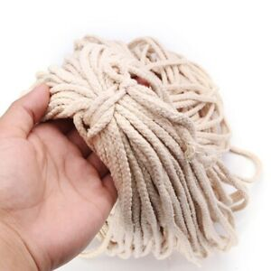 5Mmx100M-Braided-Cotton-Rope-Twisted-Cord-Rope-Diy-Craft-Macrame-Woven-Stri-F8C5