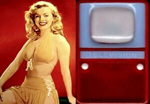 Marilyn-Monroe-1950s-Calendar-Photo-Pinup-TV-Viewer-Willinger-Hong-Kong-COA-R