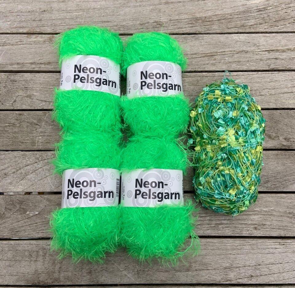 Garn, SOLGT Neon pelsgarn