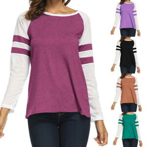 Fashion-Lady-Womens-Long-Sleeve-T-shirt-Sweatshirt-Pullover-Casual-Blouse-Tops