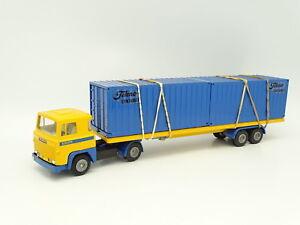 Tekno 1/50 - Conteneur Scania Lb 140 Portes
