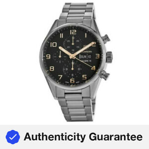 New Tag Heuer Carrera Chronograph Day-Date  Men's Watch CV2A1AB.BA0738